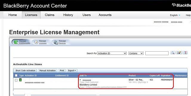 BES 10 EZ Pass Claims Through BlackBerry Account Center, Query-edited-2014- ...