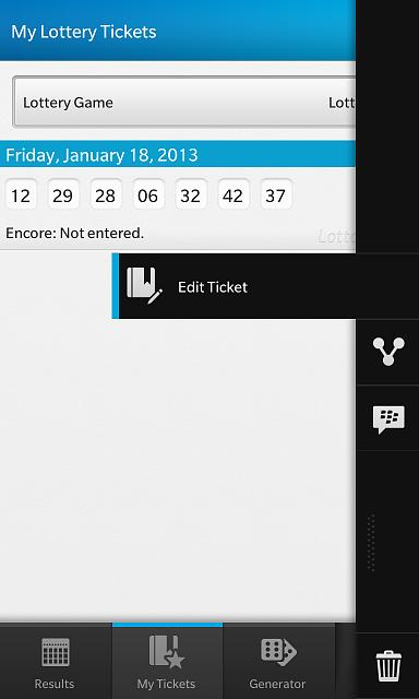 LottoTrackr - New App for BlackBerry 10 - Beta testers needed!-contextmenu.jpg