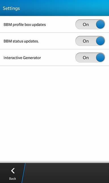 LottoTrackr - New App for BlackBerry 10 - Beta testers needed!-settings.jpg