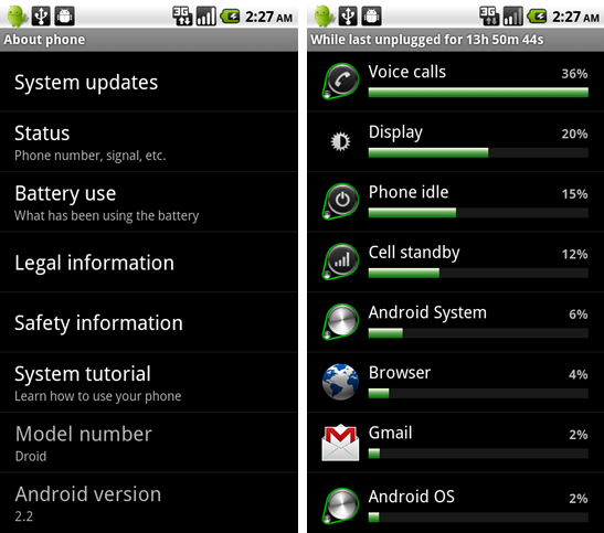 Native Battery usage app? Can it be done? - BlackBerry