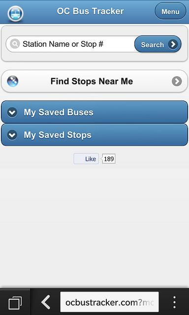 Oc Transpo App Alternative Ottawa Transit Blackberry