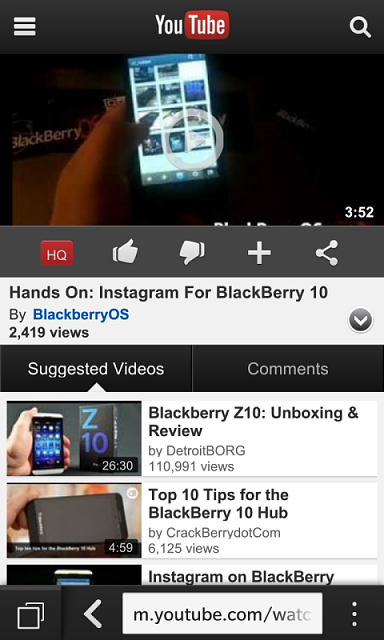 Download youtube video using your bb10 blackberry forums at download youtube video using your bb10 img00000434g ccuart Gallery