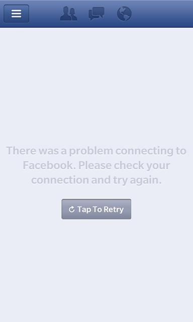 Can t enter facebook