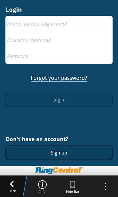 Ringcentral app ? - BlackBerry Forums at CrackBerry com