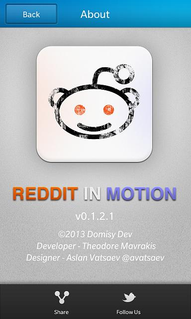 Reddit in Motion - coming soon to BB10! - BlackBerry Forums at