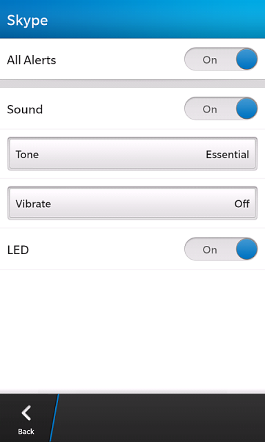 how to change skype notification sound