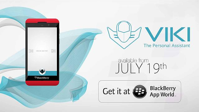 VIKI Personal Voice Assistant app is coming on Blackberry 10-cover-page.jpg