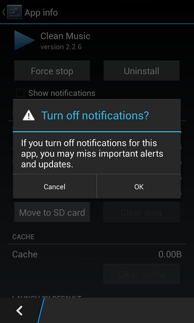 Disable alerts for Android apps on OS 10 2+ - BlackBerry