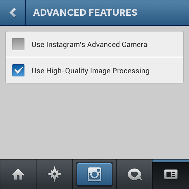 Instagram 4.1.2 bar is here for download! Tested on Q10 10.2.0.1047