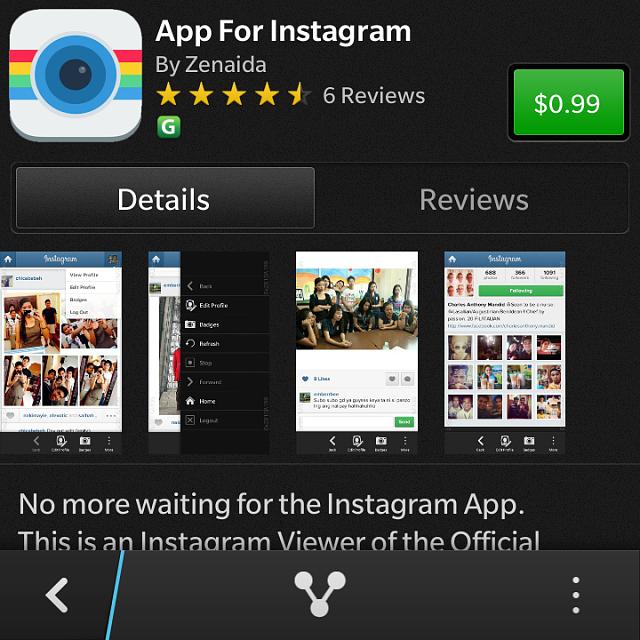 App for Instagram ?? - BlackBerry Forums at CrackBerry com