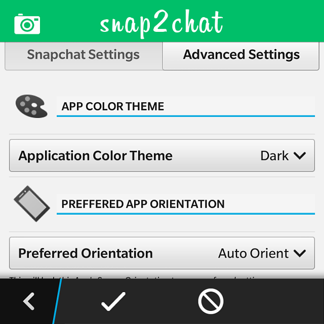 Snapchat client for BB10 - BlackBerry Forums at CrackBerry.com