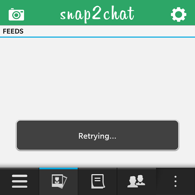 Snapchat For Blackberry 10 Snapchat For Blackberry 10 Experience A ...