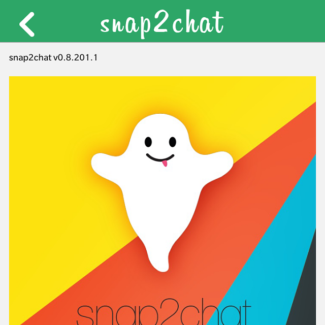 Official snap2chat - Native snapchat Client for BlackBerry 10 Beta