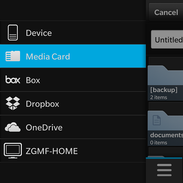Connect to OneDrive app available today in BlackBerry World-img_20140304_172128.png