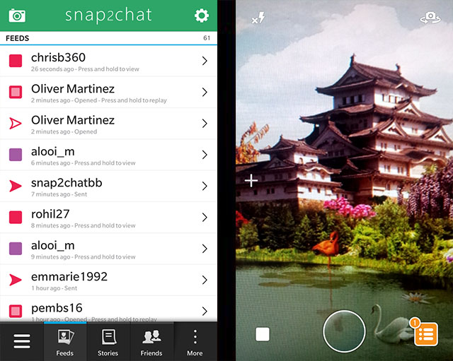Official snap2chat - Native snapchat Client for BlackBerry 10 Beta Thread-1.jpg