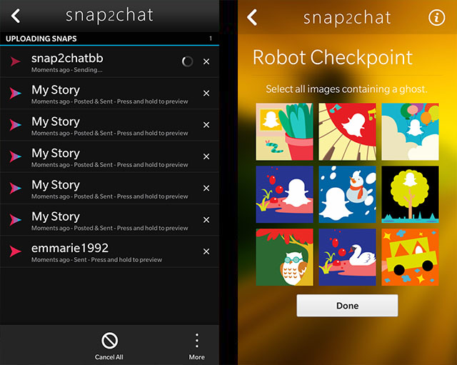 Official snap2chat - Native snapchat Client for BlackBerry 10 Beta Thread-5.jpg