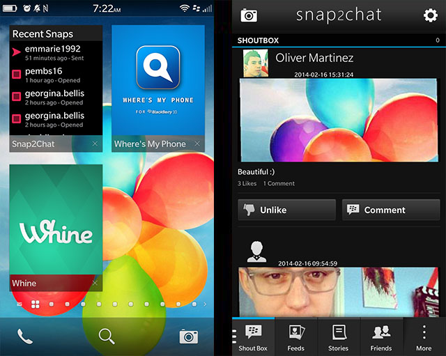 Official snap2chat - Native snapchat Client for BlackBerry 10 Beta Thread-6.jpg