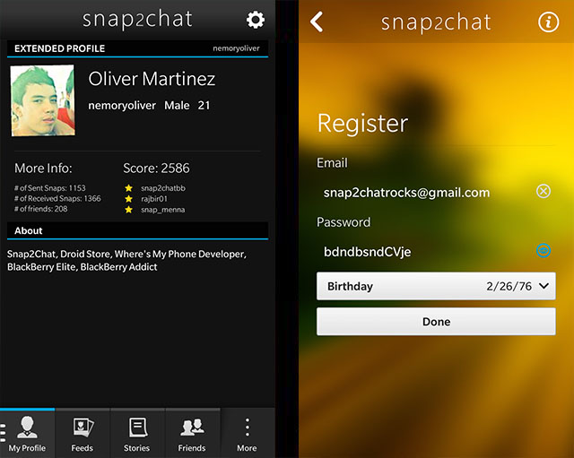 Official snap2chat - Native snapchat Client for BlackBerry 10 Beta Thread-8.jpg