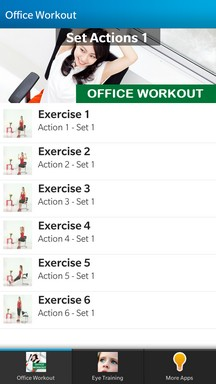 Office Workout -  Prevent you from eyes disease, carpal tunnel syndrome and other diseases-img_20140305_232405.jpg