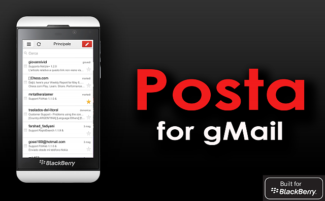 Posta - a Gmail Client for Blackberry 10-posta-banner.png