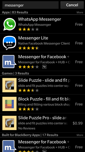 Download facebook messenger for blackberry free ~ facebook.