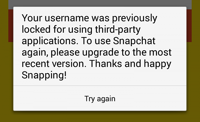 Is there a SnapChat Fix out yet? - BlackBerry Forums at