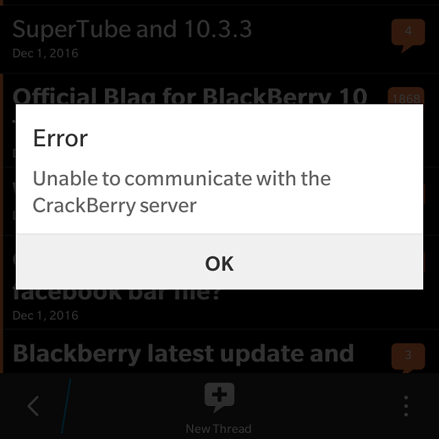 CB10 app connection issues? - BlackBerry Forums at ...
