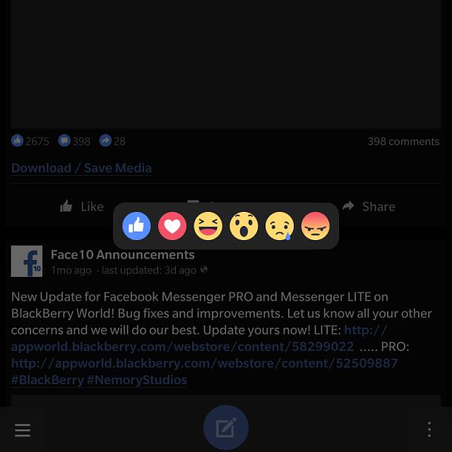 Face10 - Facebook Alternative Client - Page 132 - BlackBerry