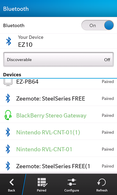 RetroArch Blackberry 10 v0 9 9 - Multi-system game/emulator system