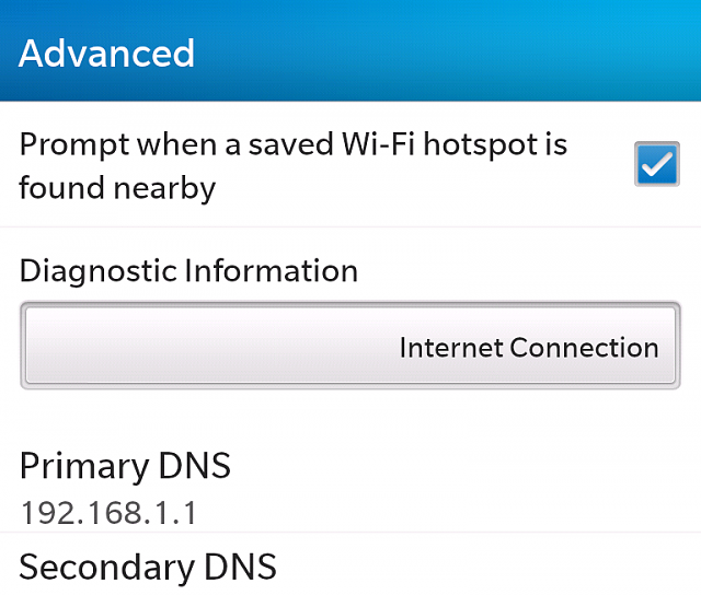 Change DNS Settings - BlackBerry Forums at CrackBerry com