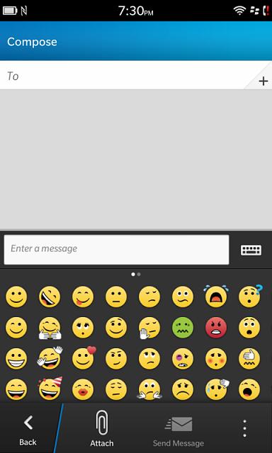 Want EMOJI support - BlackBerry Forums at CrackBerry.com