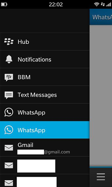unable to delete whatsapp from z10 hub blackberry forums