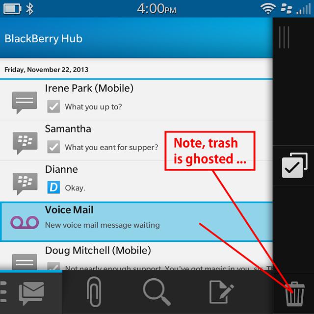 how to delete verizon voicemail