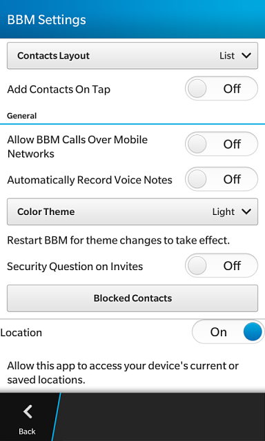 I Dont Have Ping Options On My Bbm Img__ Png