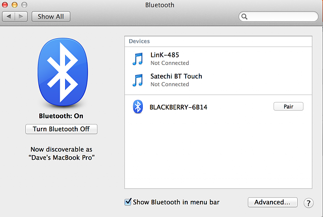tip  bluetooth send and receive files from  to bb10 device