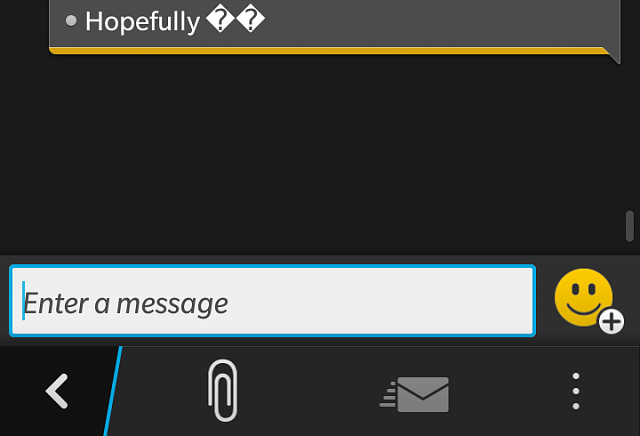Text Message Emoticons Issue Blackberry Forums At Crackberry