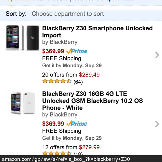 BlackBerry Z30 price drop at Amazon. Com-img_20140926_182302.png