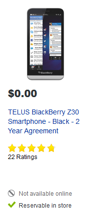 Best Buy Canada Discontinues Selling Blackberry 10 Phones-z30-bestbuy.png