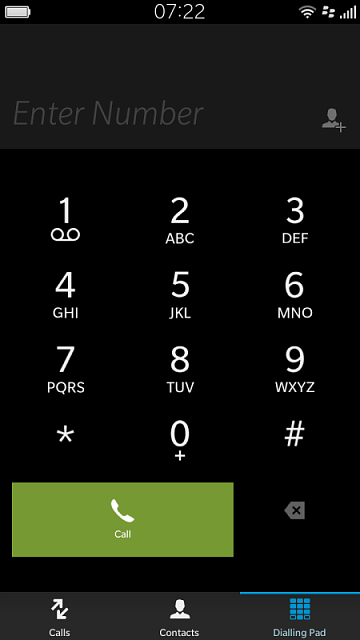Phone dialling pad on the 10 3 1 update - BlackBerry Forums at