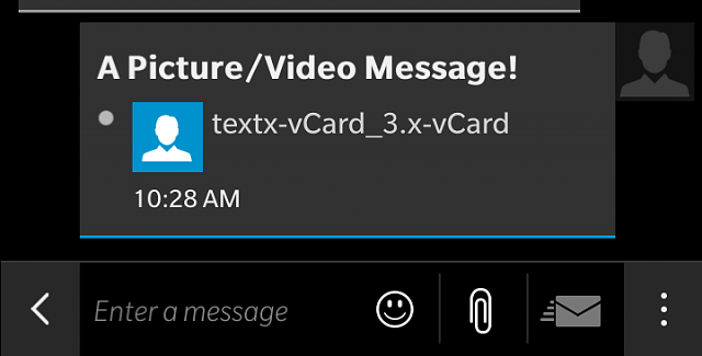 X-vcard attachment unsupported - BlackBerry Forums at CrackBerry.com