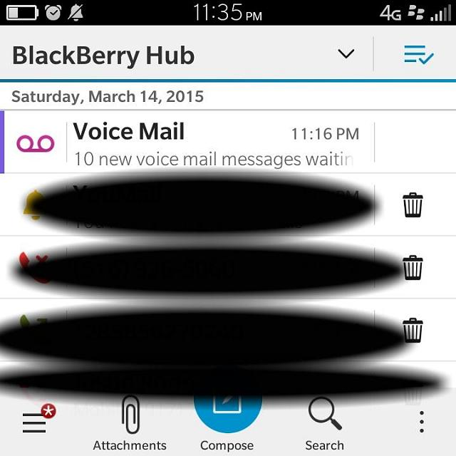 Blackberry 10 voicemail notification sound - BlackBerry Forums at