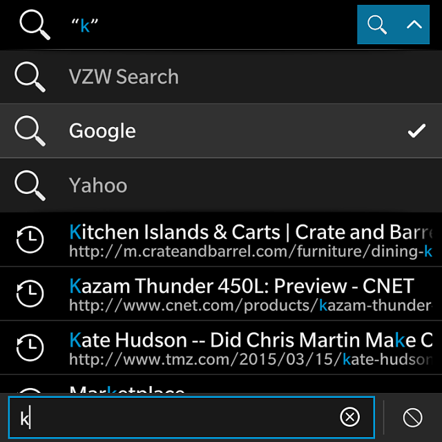 Where are my search options in BlackBerry assistant-img_20150319_165054.png