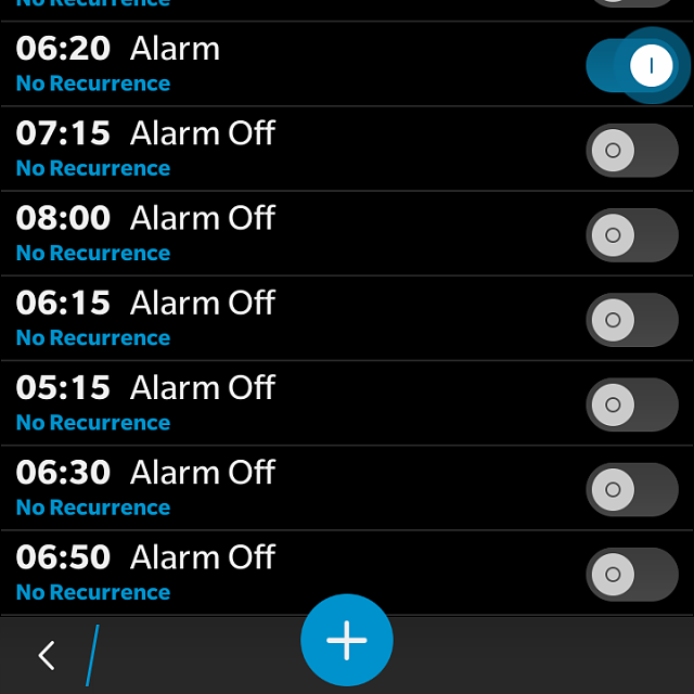 Alarm app on BB10-img_20151110_002356.png
