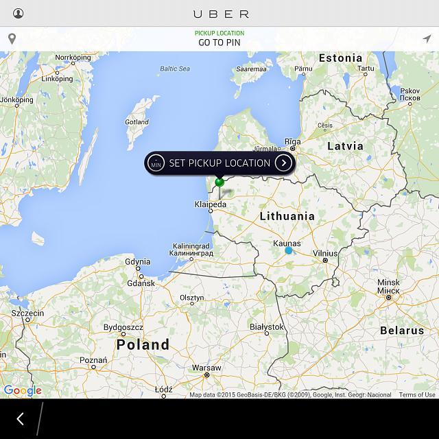 Uber app finally works with blackberry 10 os blackberry forums uber app finally works with blackberry 10 os uber fotke gumiabroncs Gallery