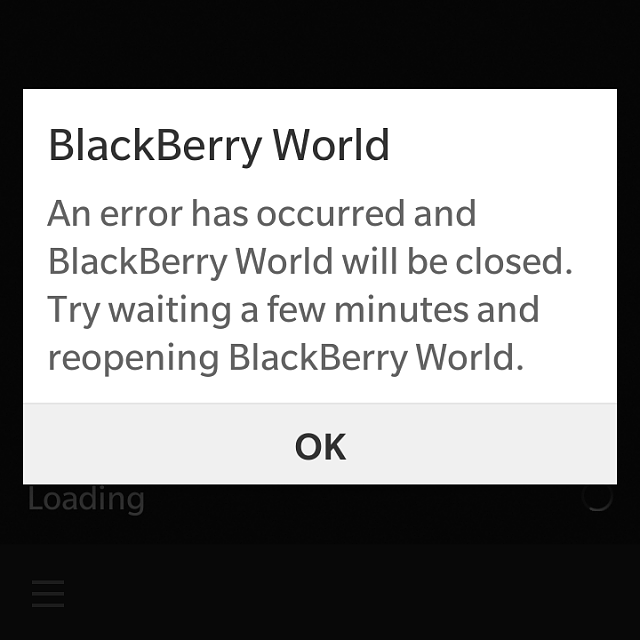BlackBerry World Error every time it opens-img_20160205_190821.png