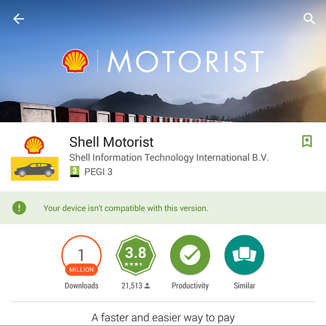 Shell Motorist App apk wanted - BlackBerry Forums at