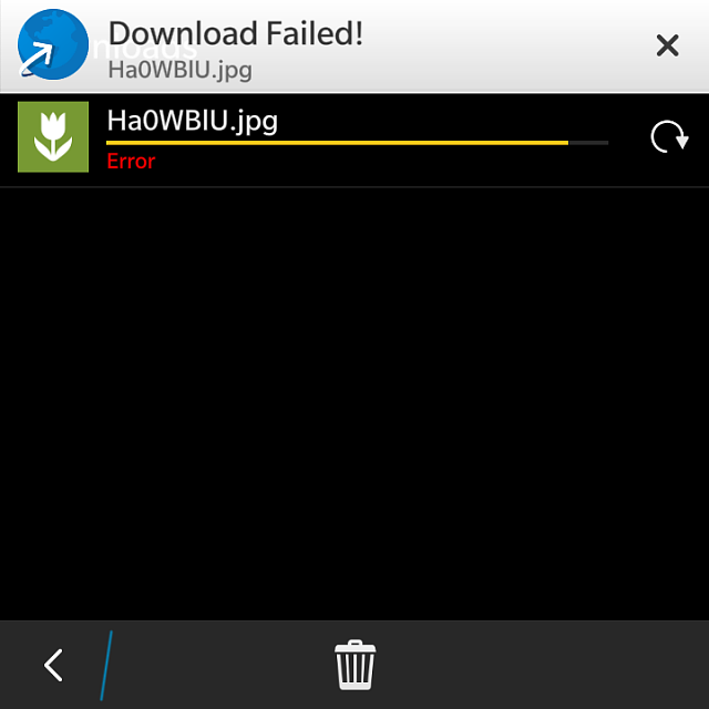 Why am I getting download error? - BlackBerry Forums at CrackBerry com