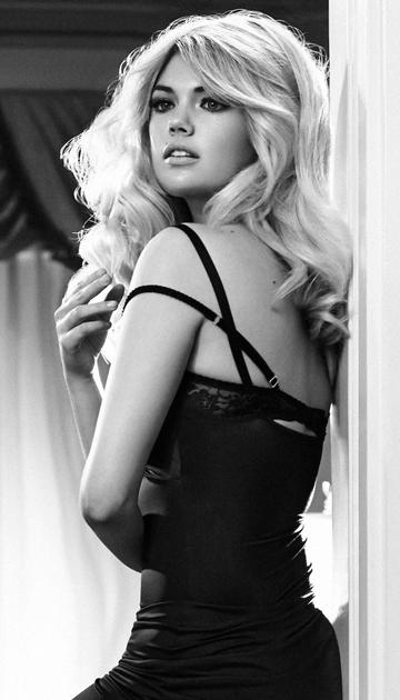 Kate Upton Iphone Wallpaper Black And White 37045 Timehd