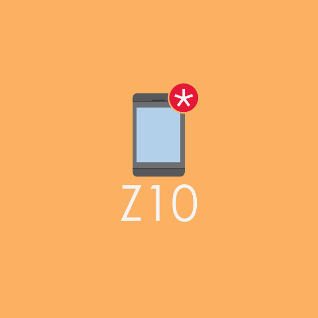 Z10 BlackBerry Logo Wallpaper Set