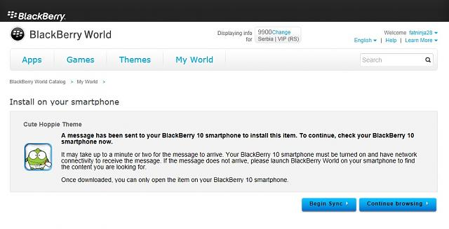 Blackberry unveils BlackBerry App World 2.0 - Smartphone Applications News  | Know Your Mobile